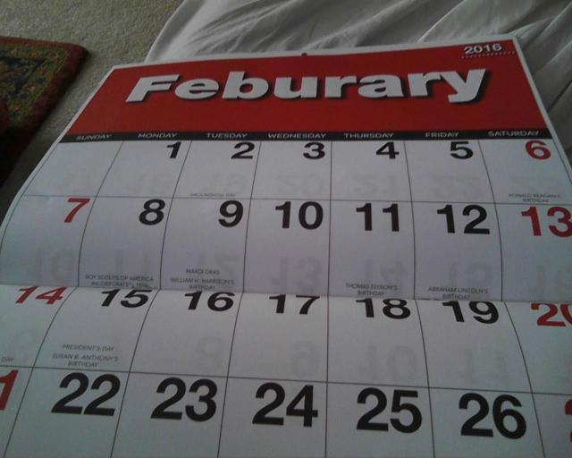 Feburary? Febuary? February?