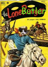 lone Butler comic book